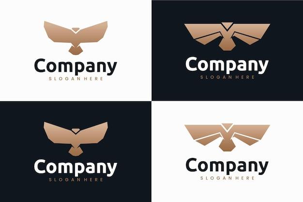Set of eagle , logo design