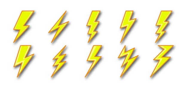 Imposta la tempesta di elettricità