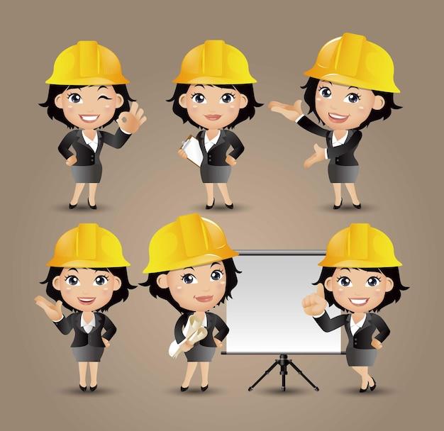 Set of engineer