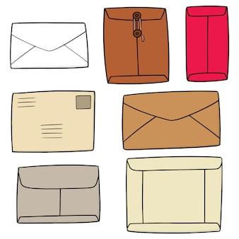 Set of envelope