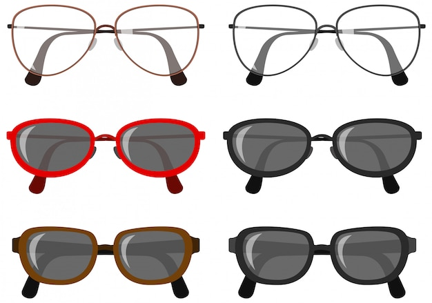 Set of eye glasses