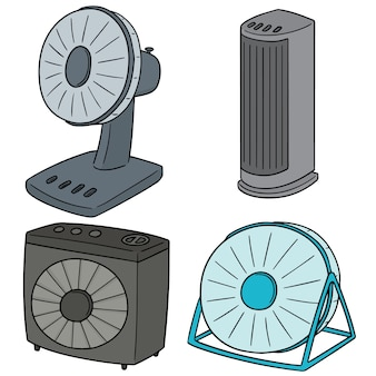 Set of fan