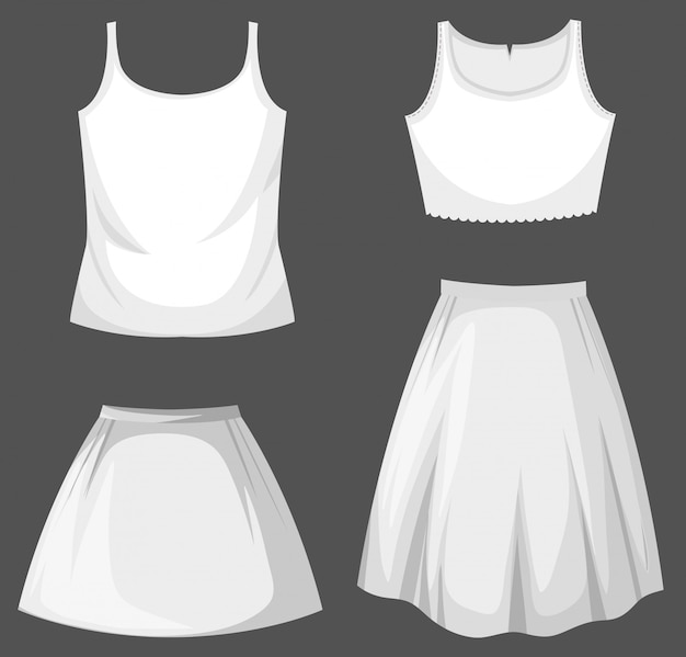 Set of female outfit