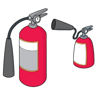 Set of fire extinguisher