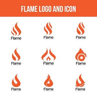Set flame logo