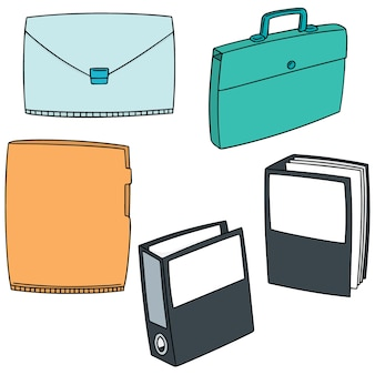 Set of folder