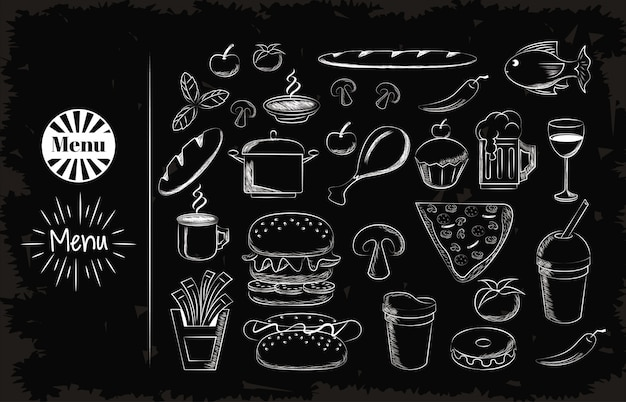 Set food icons