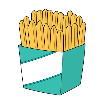 Set of frenchfries