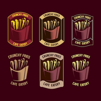Set of fries logo