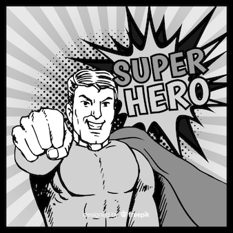 Set di supereroi divertenti