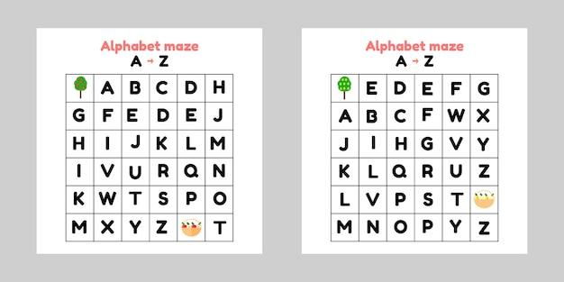 Set game for preschool and school children.