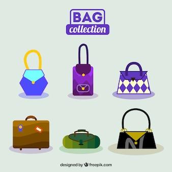Set of geometric bags