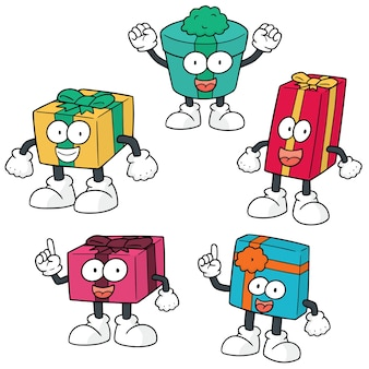 Set of gift box