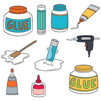 Set of glue