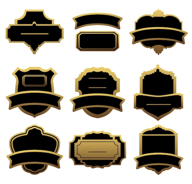 Set of golden labels and frames