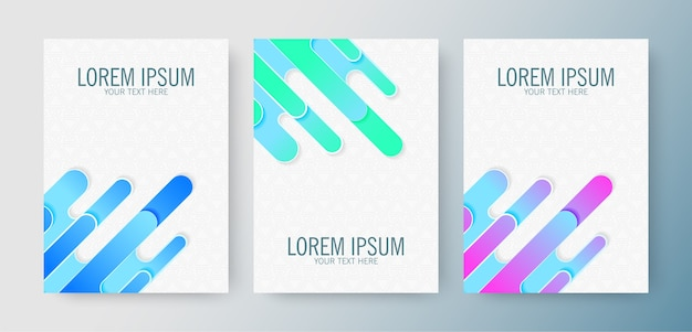 Set of gradient abstract covers