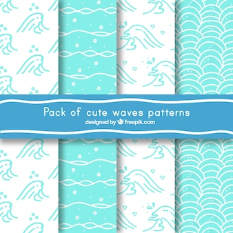 Set of great wave patterns