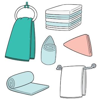 Set of hand towels