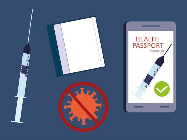 Установить паспорт здоровья covid