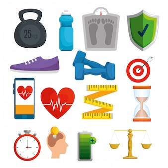 Set healthy balance with exercise and treatment