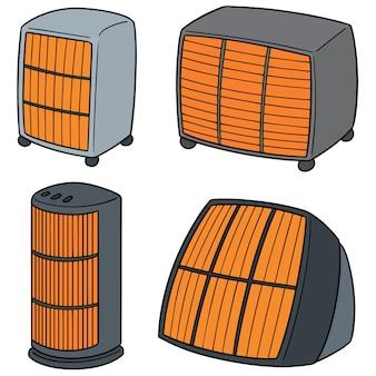 Set of heaters