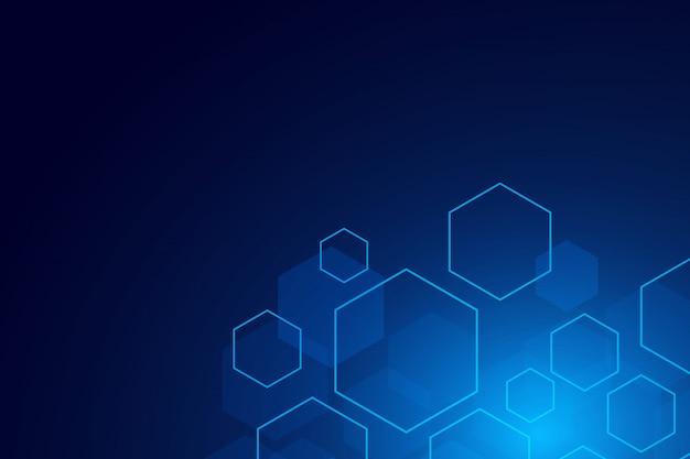 Set of hexagon cells