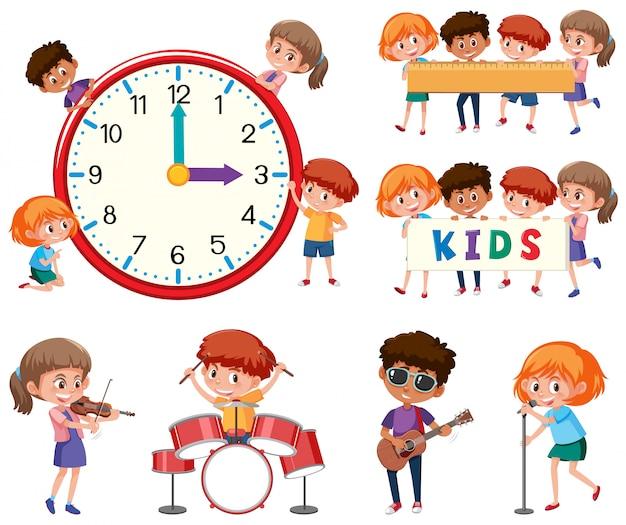 Set if children character