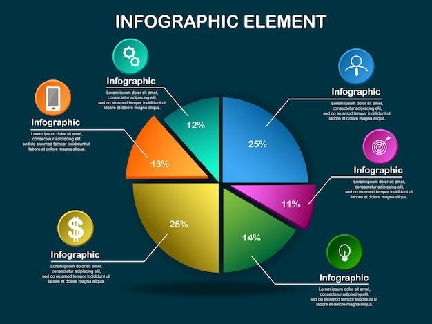 Set info graphic design vector elements for web.