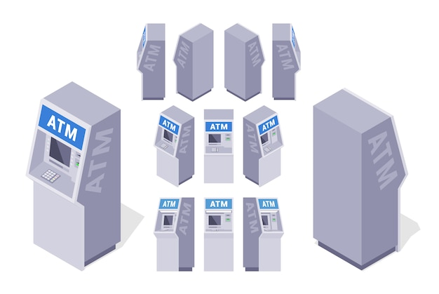 Set of the isometric atms