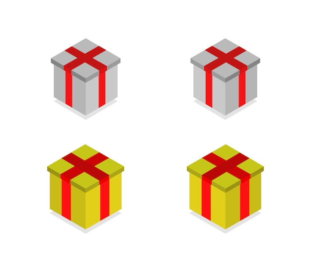 Set of isometric gifts