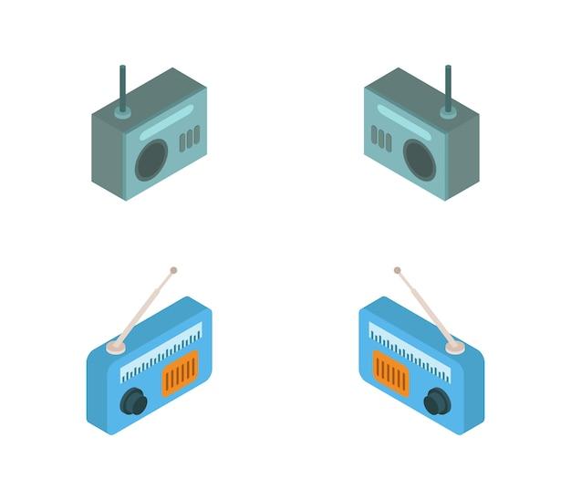 Set of isometric radios