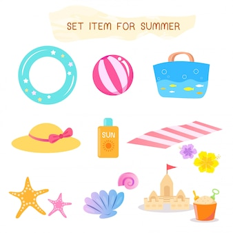 Set item for summer