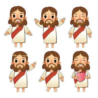 The set of jesus characters