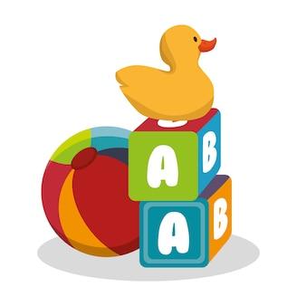 Набор детских игрушек иконки