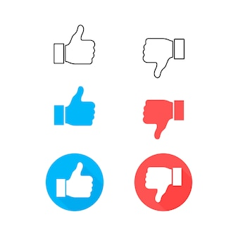 Set like and heart icon. live stream video, chat, likes.