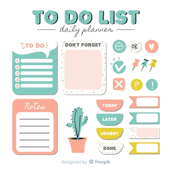 Set of to do lists
