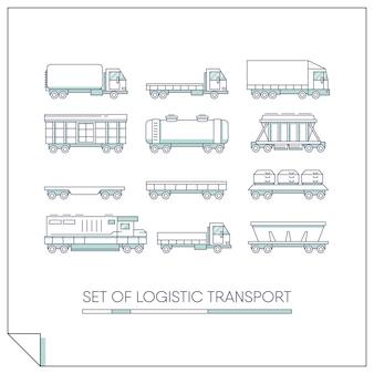 Set of logistic transport