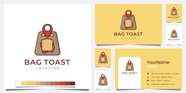 Set logo bag toast location template