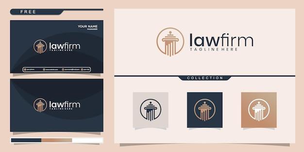 Set of logo design and business card