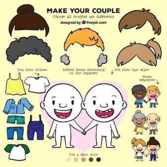Set make your couple