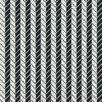 Set of marine geometric seamless pattern with anchor