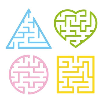 A set of mazes.