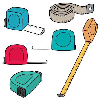 Set of measuring tape