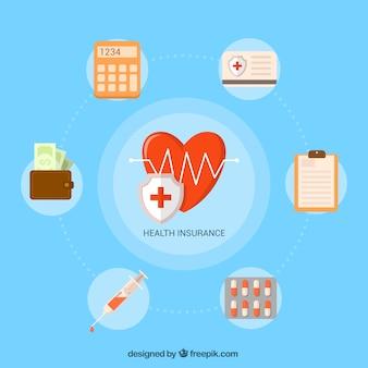 Set of medical elements