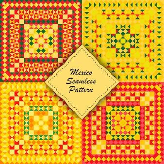 Set mexico pattern.