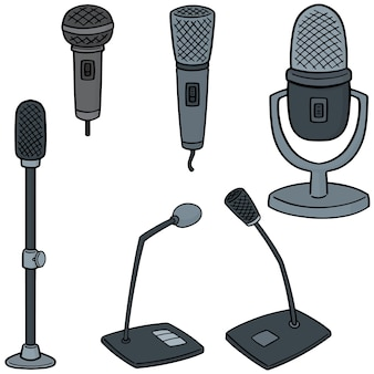 Set of microphones