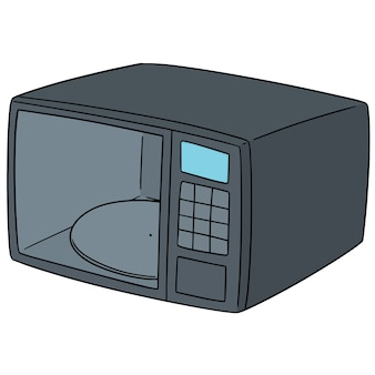 Set of microwave oven