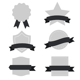 Set of mixed banners vector