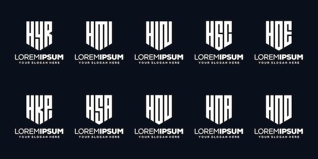 Установить современный дизайн логотипа буква c