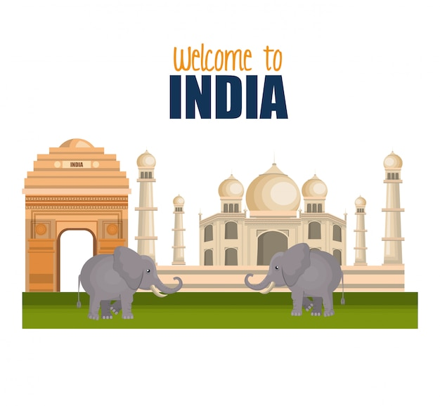 Set monuments india design